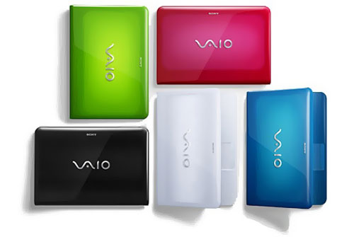 ноутбуки Sony VAIO VPC-EA3S1R B W V L P G